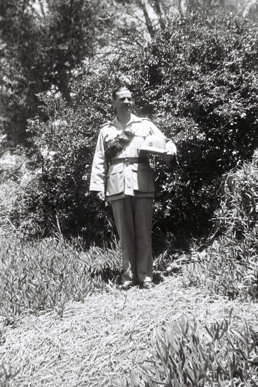 Murray in the Volunteers uniform