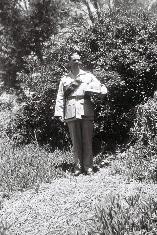 Murray in the Volunteers uniform