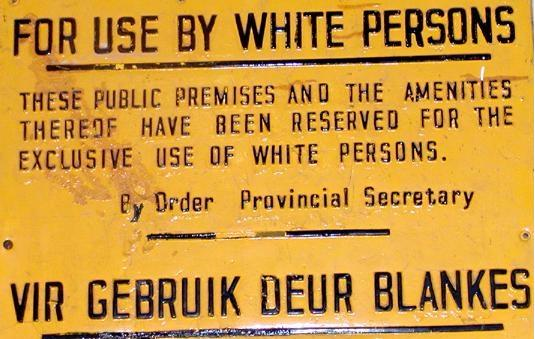 History of Apartheid in South