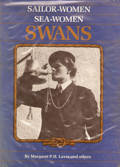 Cover of the book on the SWANS by Margaret (Meg) Laver published in 1986
