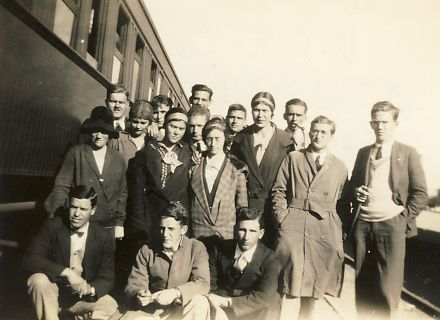 The UCT delegation to the Fort Hare conference 1930