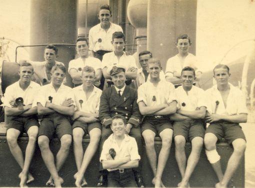 Starboard Watch racing crew 1925