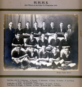 The Rugby team 1933