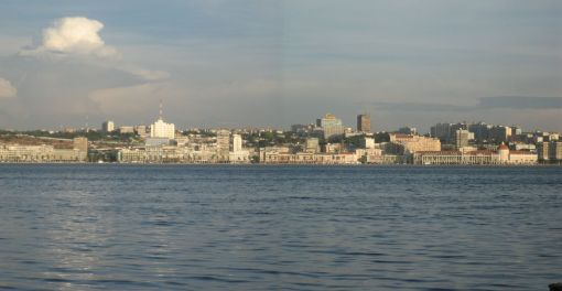 Luanda from the sea. Photo by Erik Cleves Kristensen, 2006