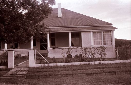 The house in Old Hospital Road, Butterworth, in which Murray and Marge lived until the end of 1972