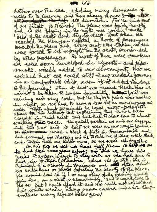 The last page of the manuscript