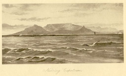 Nearing Cape Town from teh Arthur Vine Hall book