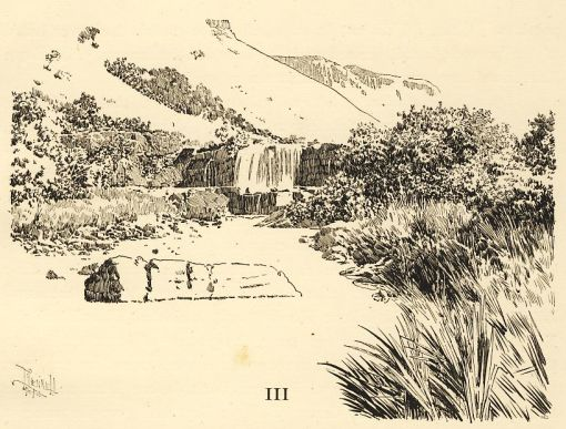 A scene in South Africa by Joseph Pennell