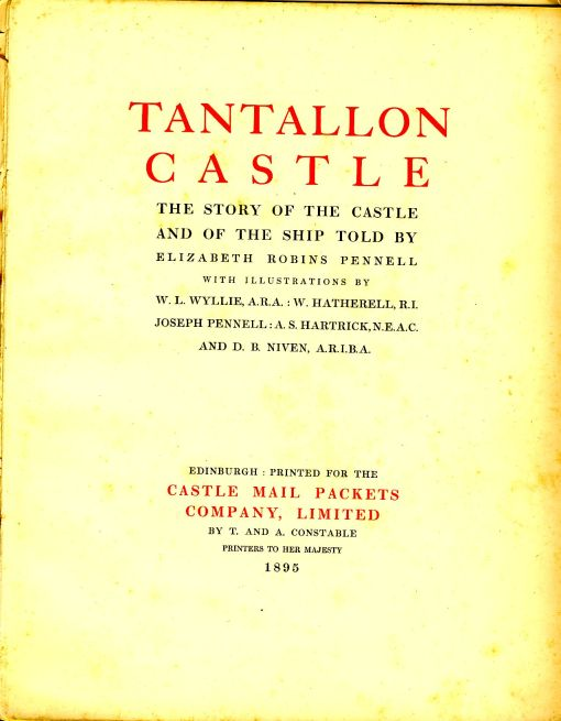The title page of the book